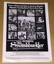 The Swashbuckler Film Poster Ad Mats France Jean Paul Belmondo Movie