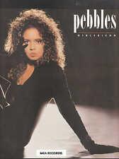 Girlfriend - Pebbles - 1987 Sheet Music