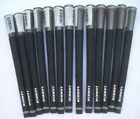 13 new-Lamkin  Crossline, Black Colored, Standard size golf grips,  .60 Round
