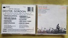 DEXTER GORDON - GETTIN AROUND. CD BLUE NOTE