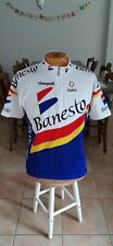 Maillot cycliste Hiver Campagnolo Nalini Banesto Vintage Cycling taille L