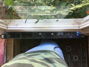 IBM X3550 M4 Server 2x E5-2640 @2.5GHz 6 CORE 16GB RAM
