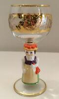 Goebel's Bavarian Figurine Goblet - Bavarian Mother - Western Germany