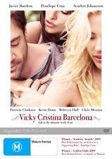 Vicky Cristina Barcelona NEW DVD Javier Bardem Scarlett Johansson REGION 4 AUST