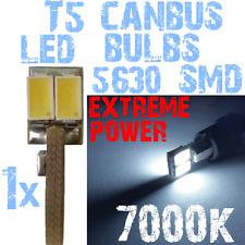 5630 1x T5 7000K LED White Light Car Dashboard Interior BOARD HORLOGE 1A12.1 1A1