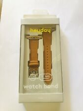Heyday Faux Leather Watch Band for Apple Watch 42mm / 44mm - Brown