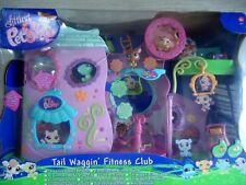 Littlest Petshop ~ Tail Waggin fitness club 64738 ~ figura 682 683 ~ casa ~ set ~ juego ~ nuevo