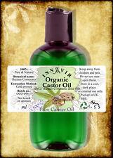 Pure Organic Castor Oil BP 100ml - Cold Pressed