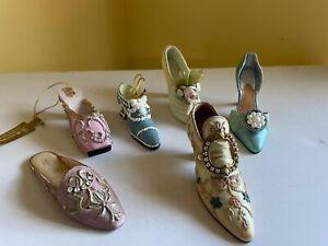 Various Shoe Miniatures - Lot of 6