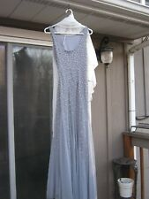WOMEN'S ADRIANNA PAPELL MOTHER OF THE BRIDE DRESS SIZE 10-EUC-TAKE A LOOK!