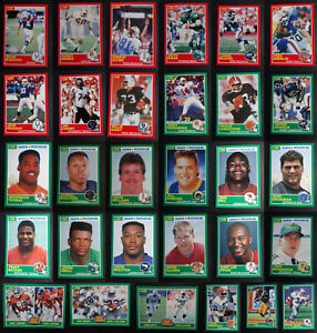 1989 Score Football Cards Complete Your Set You U Pick From List 171-330