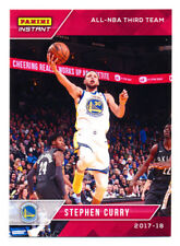 2017-18 PANINI INSTANT #187 STEPHEN CURRY RED ALL-NBA TEAM WARRIORS RARE SP/63!