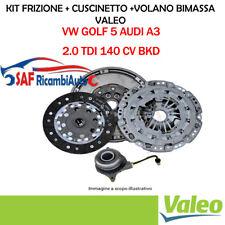 KIT FRIZIONE VOLANO BIMASSA VALEO VW GOLF 5 2.0 TDI 140 CV BKD 837397 600001700