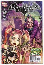 BATMAN: ARKHAM CITY #3 | Harley Quinn & The Joker | Low Print Run | 2011 | VF/NM