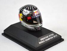Sebastian Vettel casque champion du monde Brésil 2012 Minichamps 381 120201 1:8