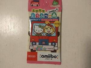 Tobidase Animal Crossing Amiibo + amiibo Card Sanrio Characters Collaboration JP