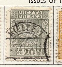 Poland 1929-38 Early Issue Fine Used 20g. 190908