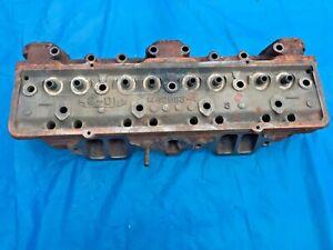 1956 Cadillac 365 CID Motor RH / PS Cylinder Head Tested Good Core Used Original