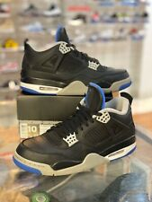 Nike Air Jordan 4 Retro Motorsport Alternate Size 10 Black Royal (308497-006)