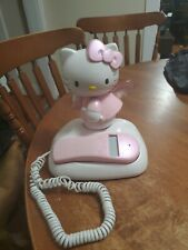 Hello Kitty Phone, Angel in the clouds Lights Up When it rings Cute!