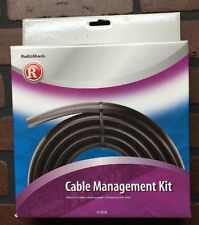 Vinyl 8 Foot Cable Management Kit By Radio Shack Avoid Tripping On A/V Wires 269