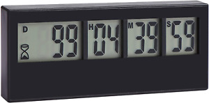 Countdown Clock Timer 999 Days  Event Reminder for Wedding Retirement Lab New