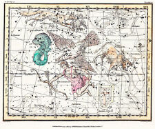 Astronomy Celestial Atlas Jamieson 1822 Plate-10 Art Paper or Canvas Print