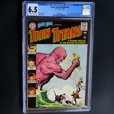 BRAVE AND THE BOLD #60 (DC 1965) 🔥 CGC 6.5 🔥 1ST WONDER GIRL w/ TEEN TITANS!