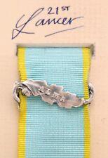 British Cavalry Army The Crimea Medal Clasp or Ribbon Bar Alma Silver