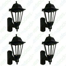 4 x ASD CL/BK100C Coach Lanterns with Photocell Dusk to Dawn Sensors - (Black)