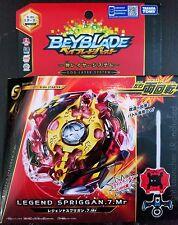 Beyblade Burst B-86 Legend Spriggan .7.Mr with Light Launcher LR Takara Tomy