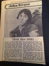 L3-6 Ephemera 1976 Picture Article John Cale Album Review Helen Of Troy