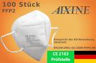 100x FFP2 Masken Mundschutz 5 lagig -CE 2163 Prüfstelle- Händler aus Deutschland