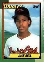 1990 Topps Baseball Base Singles #724-792 (Pick Your Cards)