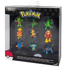 TOMY Pokemon Gen 3 Starter Treecko Torchic Mudkip Multi 9-Pack Figures Gift USA