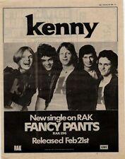 Kenny Fancy Pants UK '45 advert 1975