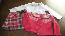 JANIE AND JACK 12-18-24 SKIRT SWEATER ONE PIECE LOT IN THE ALPS