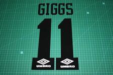Manchester United 93/94 #11 GIGGS AwayKit Nameset Printing