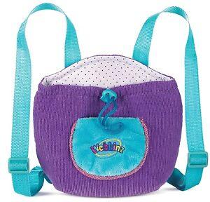 Webkinz Purple Plush Pet Carrier Backpack by Ganz
