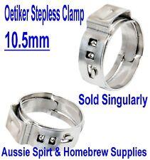 NEW Oetiker Clips 10.5 mm Great for 5 mm I.D X 8mm O.D Beer Hose