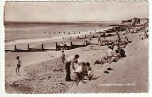 A Real Photo Post Card of Milford-On-Sea, Hants.