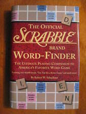 NEW The Official Scrabble Word Finder Hardcover with Dust Jacket Brand New