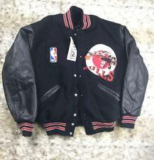 NWT Custom Delong NBA Chicago Bulls Looney Tunes Letterman Jacket Mens Sz L