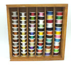 Assorted Fly Tying Thread Floss Tinsel Wool Copper & SS Wire 72 rolls MAT151