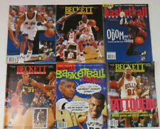 Beckett Basketball Monthly: 14 Issues from 1994 -1997