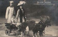 22040/  Foto AK, Unser Kaiserpaar mit Prinz Wilhelm