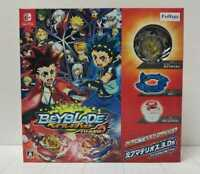 Nintendo Switch Beyblade Burst Battle Zero Japan w/Limited Beyblade FAST SHIP