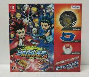 Nintendo Switch Beyblade Burst Battle Zero Japan w/Limited Beyblade