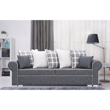 Brand New Modern Fabric Comfortable Sofa Bed / Couch MONACO