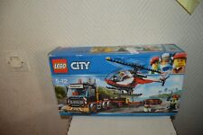 BOITE LEGO CITY 60183 CAMION HELICOPTERE